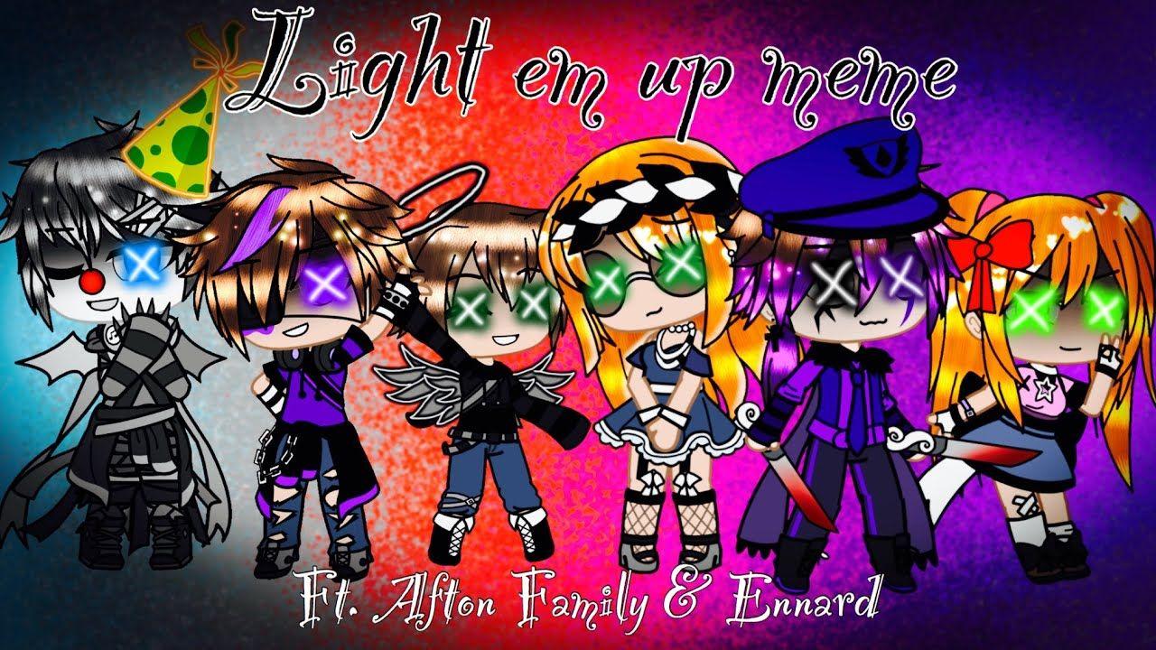 Light Em Up Meme Afton Family Ennard Fnaf Afton Light Em Up Fnaf
