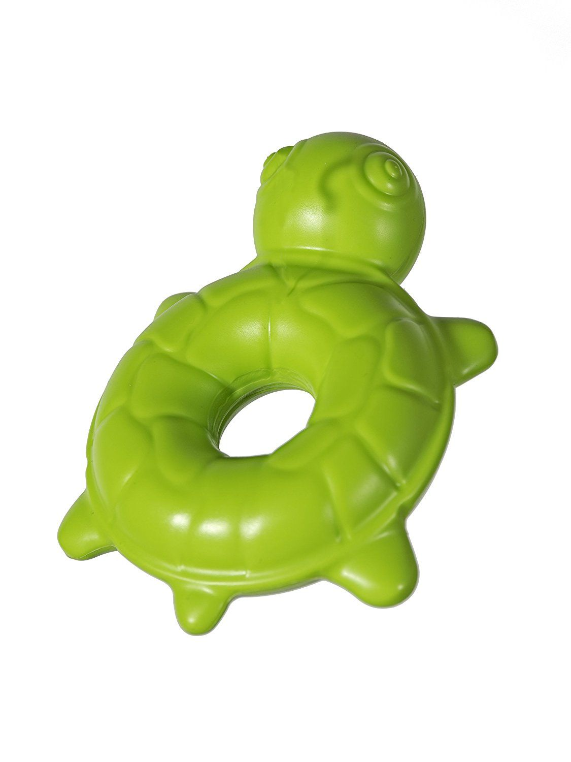 Chase N Chomp Durable Floating Squeaking Turtle Dog Toy See