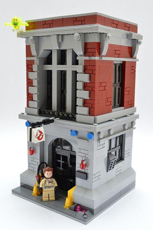 Mini Ghostbusters Headquarters Lego City Lego Lego Film Lego Fire