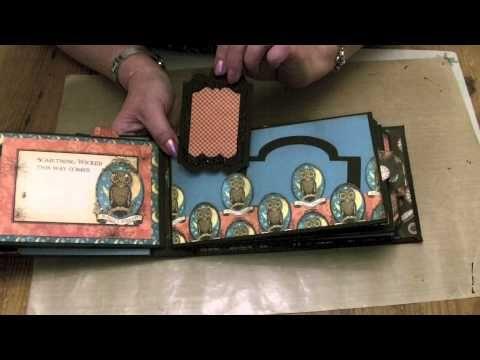 Steampunk Spells Envelope Pocket Album
