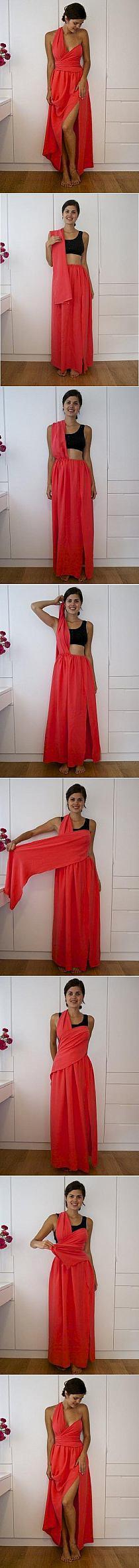Diy no sew dress diy projects usefuldiy stuff i want to make diy clothing solutioingenieria Images