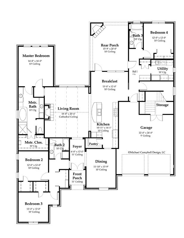 3221 65 1st Floor French Country House Plan Jpg 618 800 Pixels French House Plans French Country House Plans French Country House