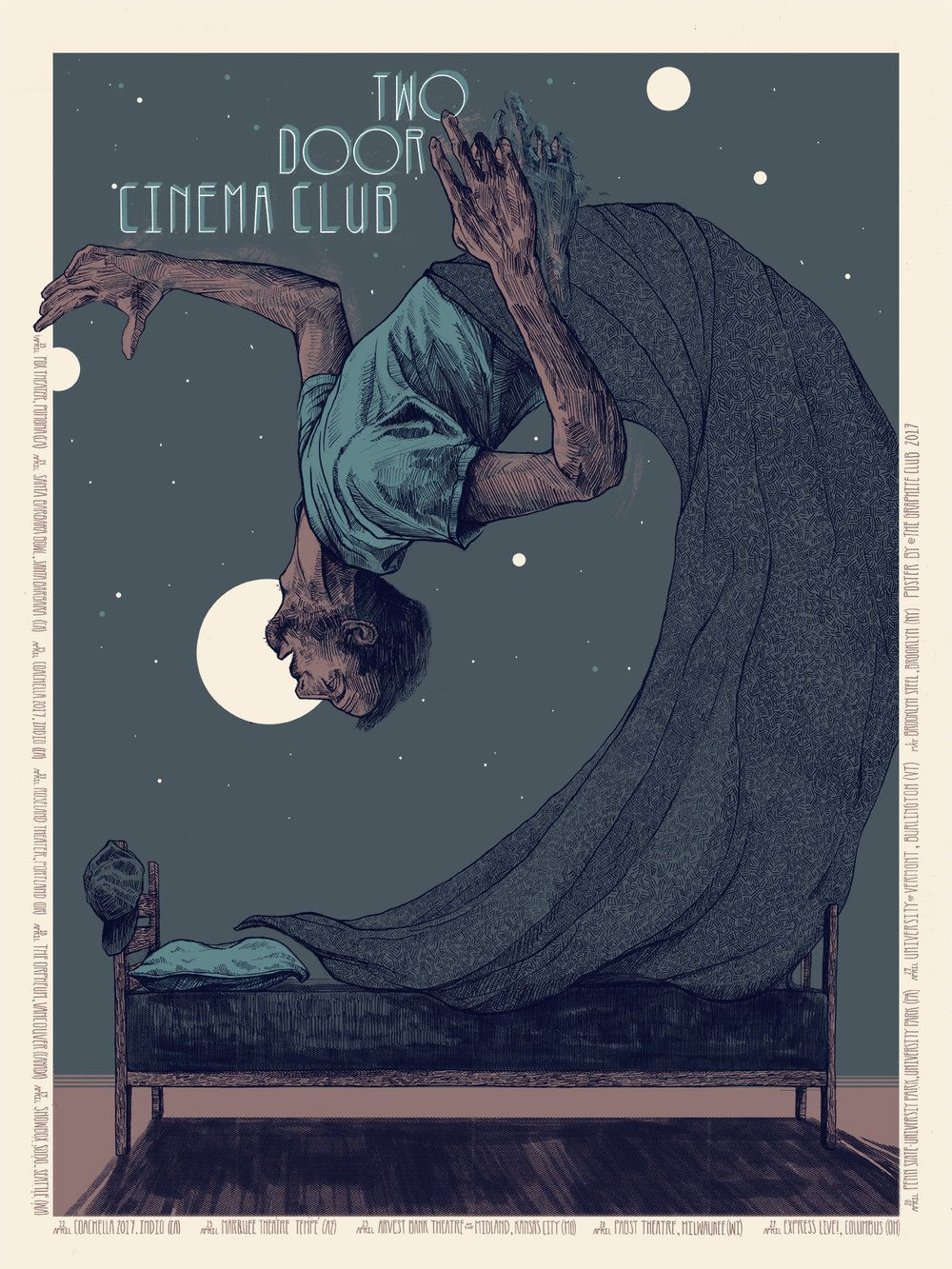 The Graphite Club in 2020 Concert poster design, Gig