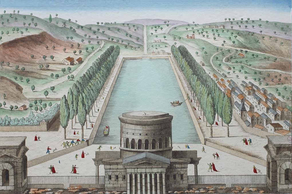 르두 Claude Nicolas #Ledoux , Barriere de la Villette