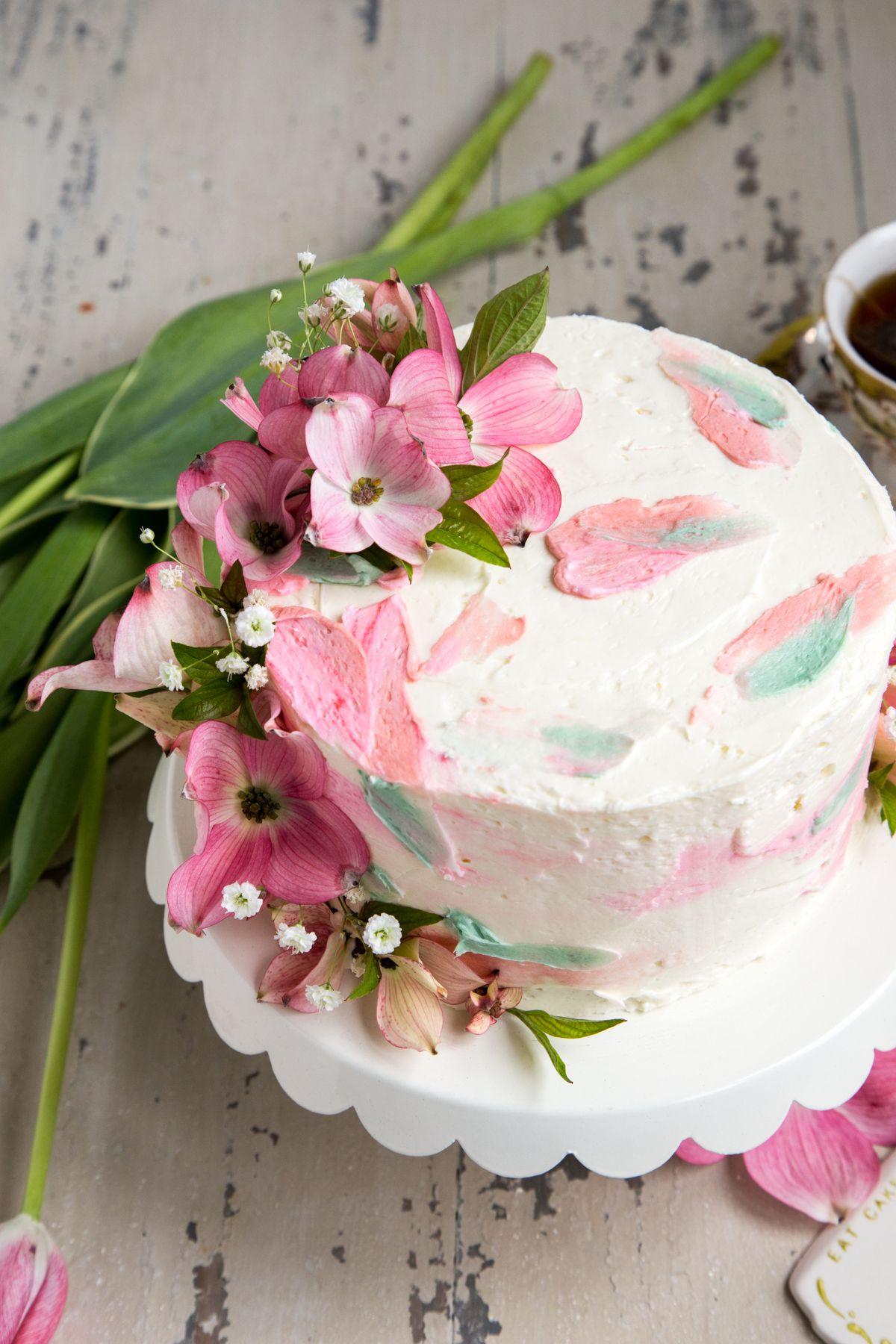 Lemon Cake with Elderflower Buttercream Frosting - Prince Harry and ...