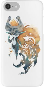 zelda twilight princess link lobo iphone case