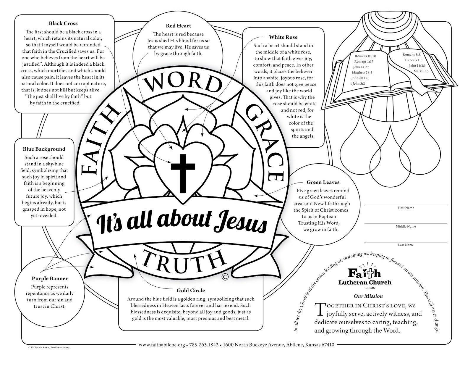 Coloring Page Free Crafts For Vbs Sunday School Church Event Party Favors And Activities Hey