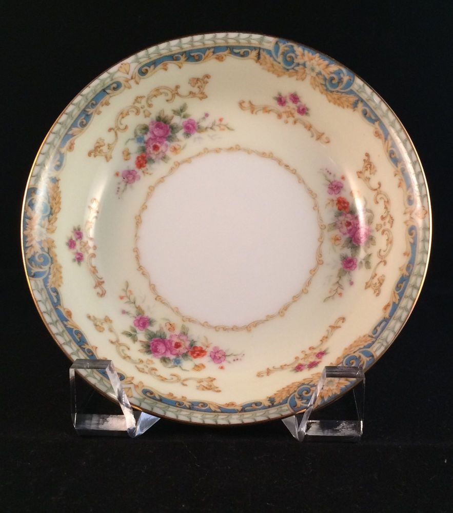 Fuji China Dreamland Pair Of Berry Bowls Occupied Japan Tea Party