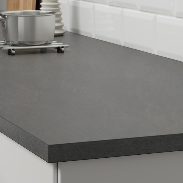 Ekbacken Werkblad Betonpatroon Laminaat 186x2 8 Cm Ikea In 2020 Laminate Countertops Replacing Kitchen Countertops Countertops