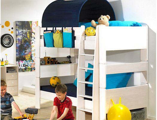 Fjord tout un univers modulable.  Lits superposables pour la chambre de vos enfants.  Peuvent évoluer et devenir lits jumeaux. A découvrir sur www.chambrekids.com