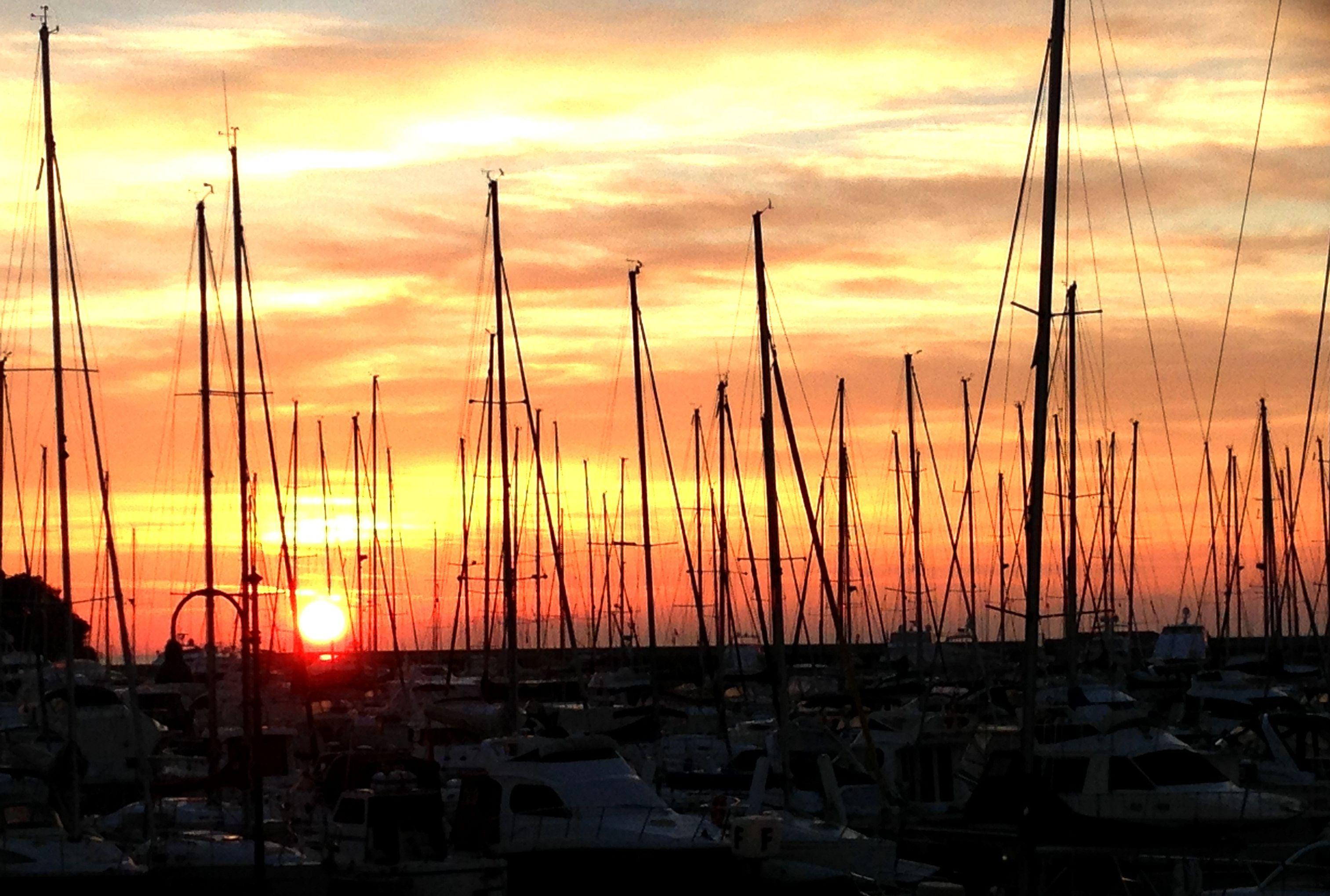 #Sunset at Marina di Scarlino #Maremma #Tuscamy