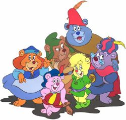 Gummi Bears!  I totally forgot about this show!!