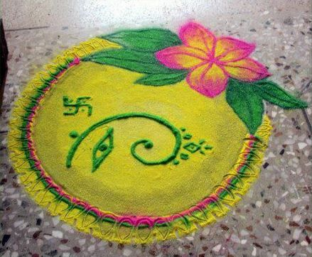 Check out our beautiful collection of rangoli designs for ganesh festival decorate your home and also simple rh in pinterest