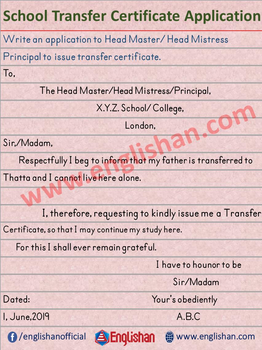 e88742df9b419cdd8104713e859ffde1 - An Application For Transfer Certificate