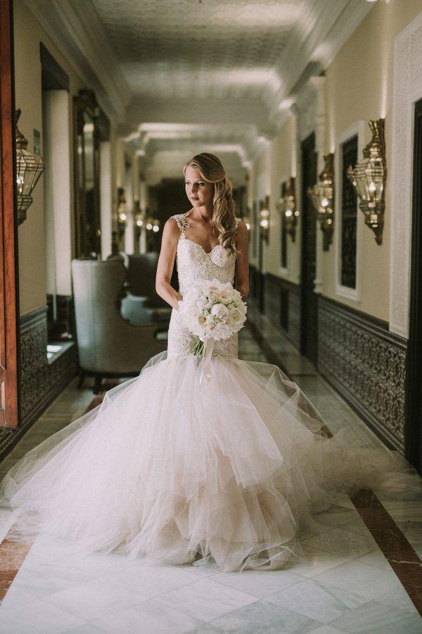 Stunning Mermaid Bridal Style David Latour Photographe