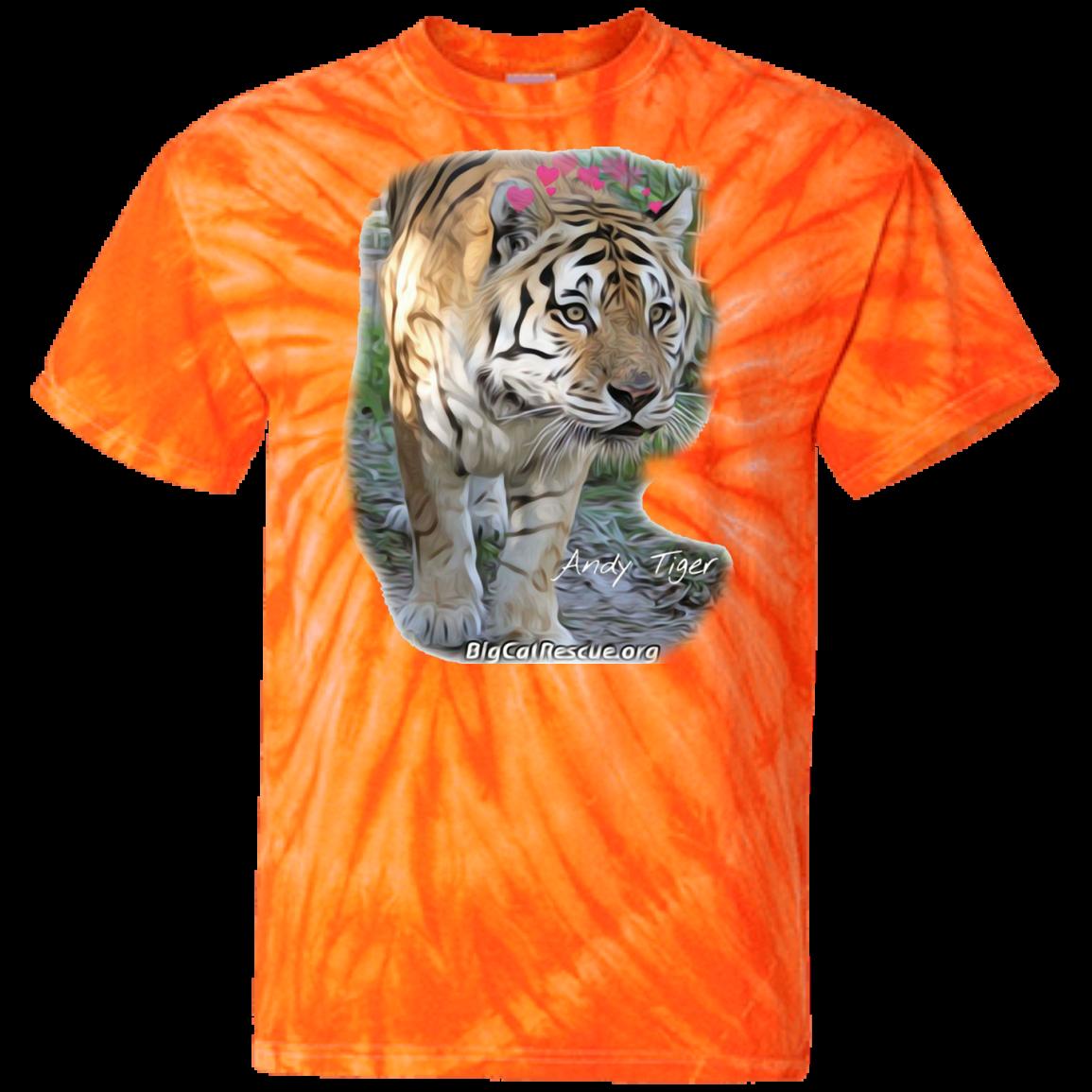 Love Andy Tiger 100 Cotton Tie Dye TShirt Dye t shirt