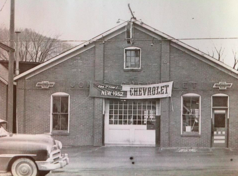 The Original Jones Chevrolet Where It Started In Sheffield Pa House Styles Hometown The Originals
