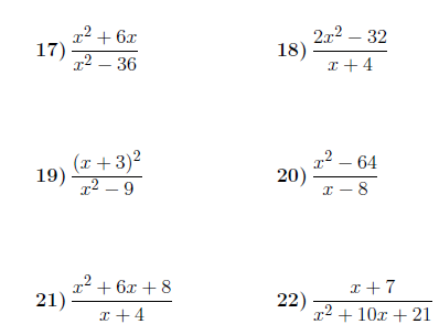 Simplifying Algebraic Fractions 2 Worksheet With Solutions Fractions Worksheets Fractions Simplifying Rational Expressions