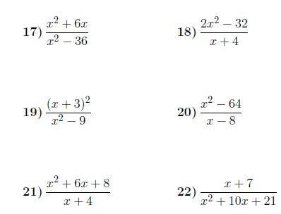 Simplifying Algebraic Fractions 2 Worksheet With Solutions Fractions Worksheets Fractions Worksheets
