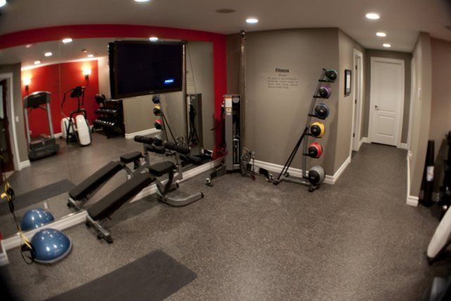 Beau Turn Your Basement Into A Home Gym.