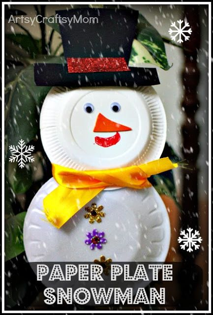 35 Creative And Fun Snowman Art Craft Food Ideas Projects To Try
