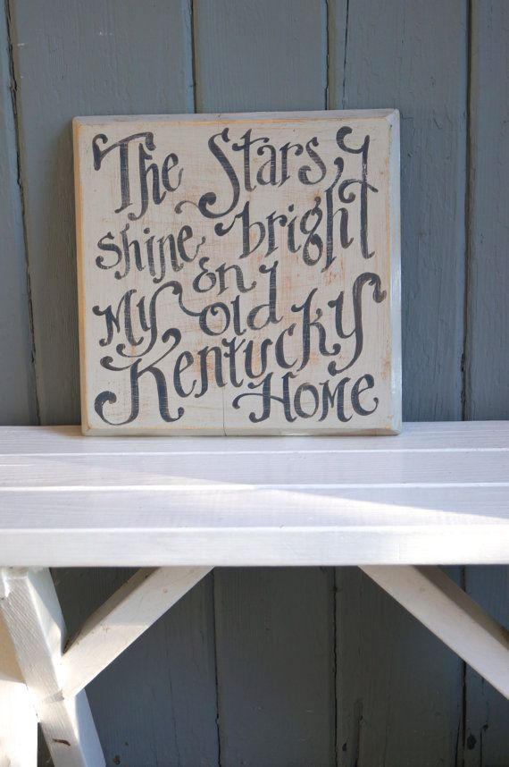 My old kentucky home sign wood ready to ship homeschool my old kentucky home sign wood ready to ship homeschool lexington louisville paducah bowling green owensboro abc letter solutioingenieria Image collections