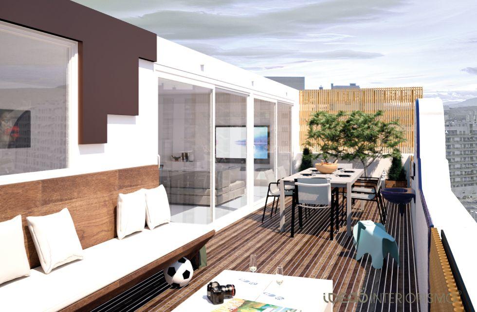 terraza atico decoracion buscar con google - Decoracion Aticos