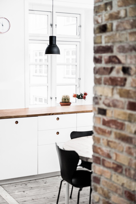 sterbro wohnung k chen pinterest k che esszimmer k chen fronten und eiche massiv. Black Bedroom Furniture Sets. Home Design Ideas