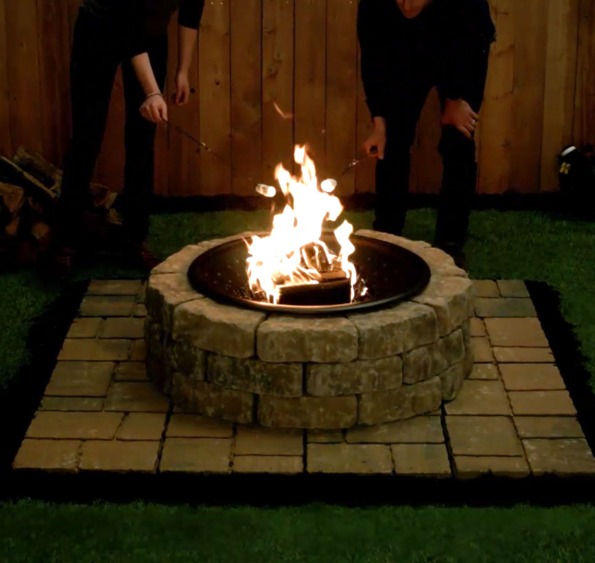 DIY How-To Fire Pit. Discover more ways to create DIY ...