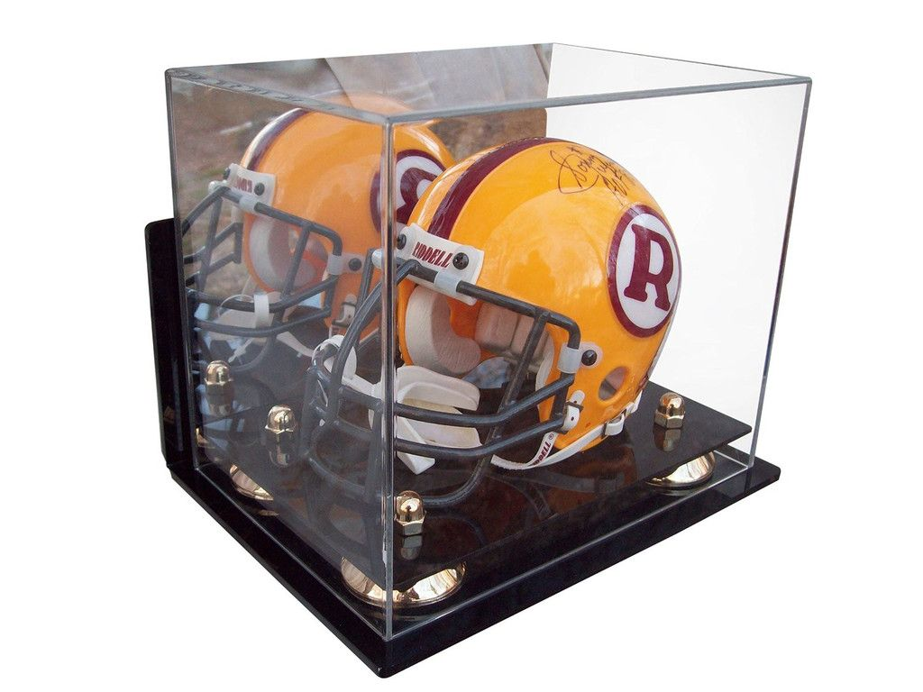 Acrylic mini miniature football helmet not full size