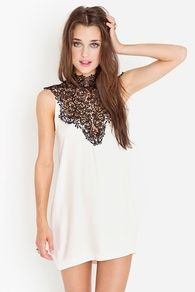Cayyute...<3  http://www.nastygal.com/clothes/tied-crochet-dress--ivory