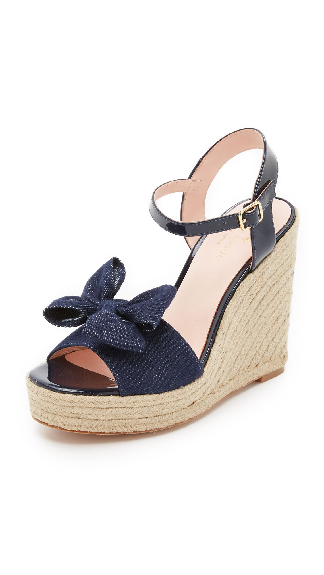 373c9494df0 Kate Spade New York Darya Espadrille Wedge Sandals - Blue