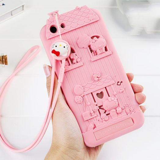 new style 5683c 5264c For OPPO A59 / OPPO F1S 3D Cute Cartoon Fabitoo Hello Kitty Phone ...