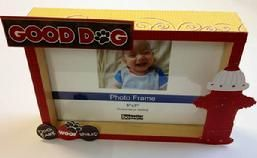 Dogs need lovin too.  Show your love by framing their photo in this fun embellished frame.