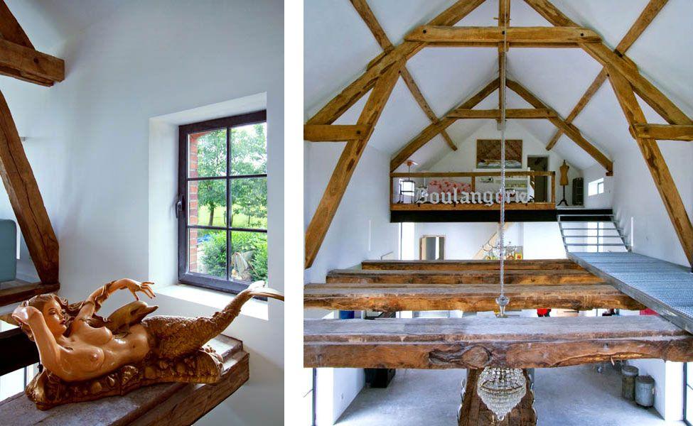 Barn Conversion In Burgundy By Josephine Interior Design 15 H