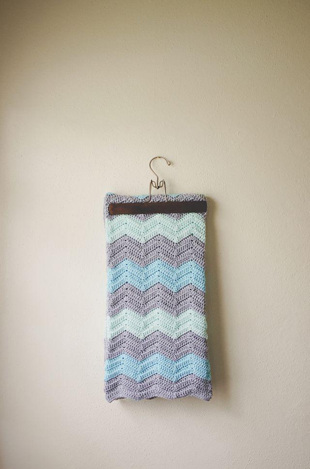 chevron crochet blanket (link to free pattern on blog) | Crochet My ...