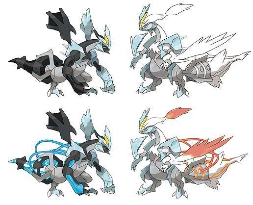 Black Kyurem White Kyurem Black Pokemon Pokemon Black And White Pokemon