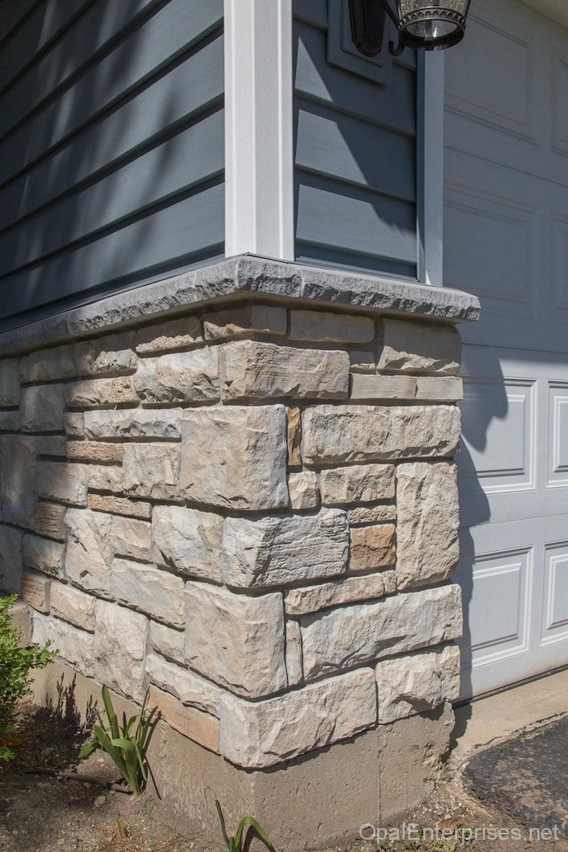 Siding Installation With Stone In Naperville Exterior Stone
