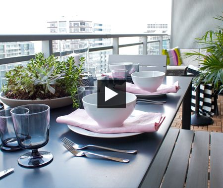 Superb Condo Balcony Makeover