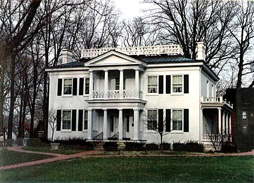 Crawfordsville Indiana Historic Structures Historic Homes Mansions Crawfordsville