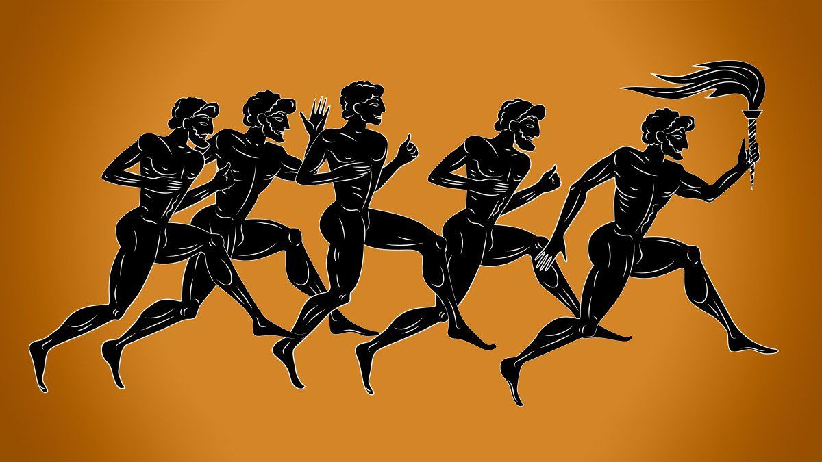 The first marathon