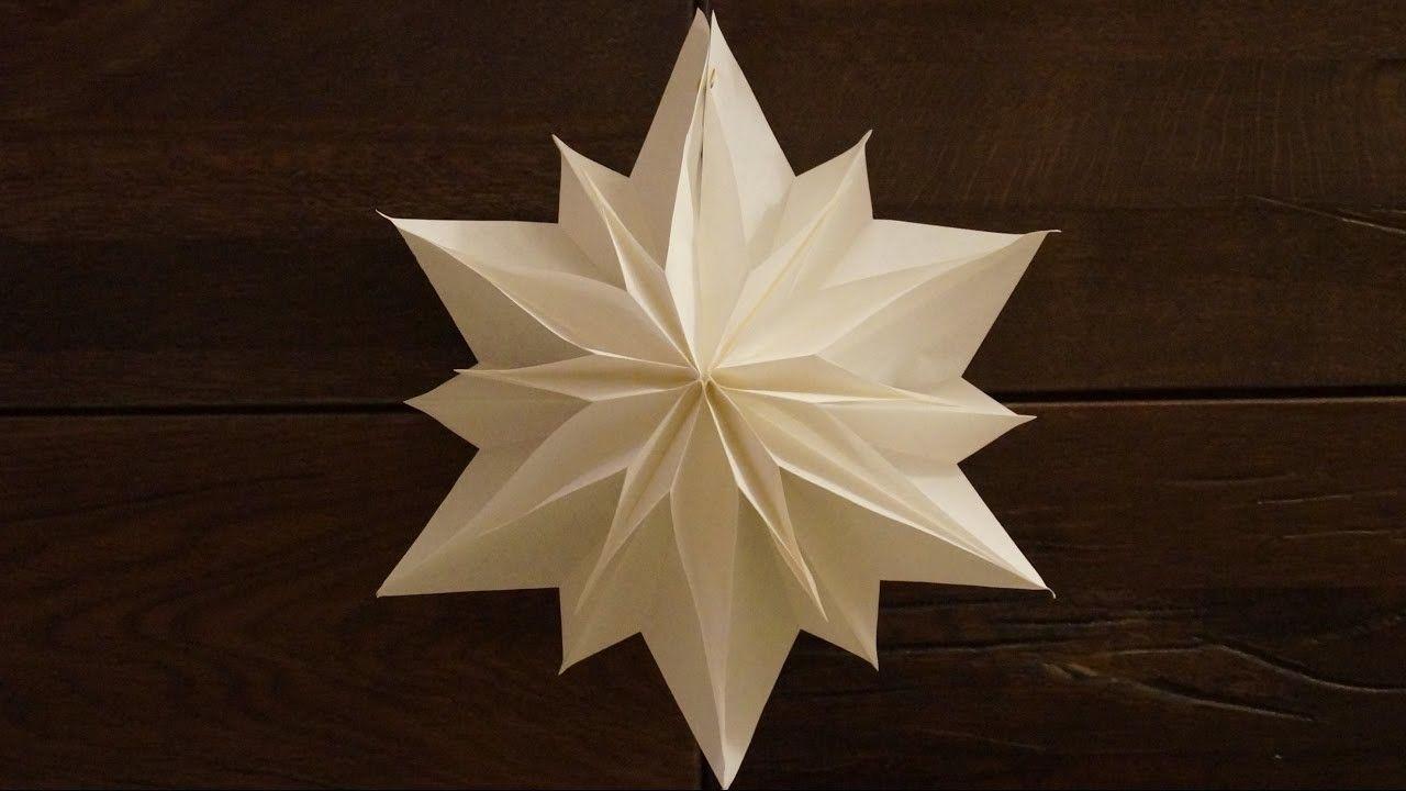 einfache sterne zu weihnachten basteln paper stars tutorial diy weihnachtsbasteln. Black Bedroom Furniture Sets. Home Design Ideas