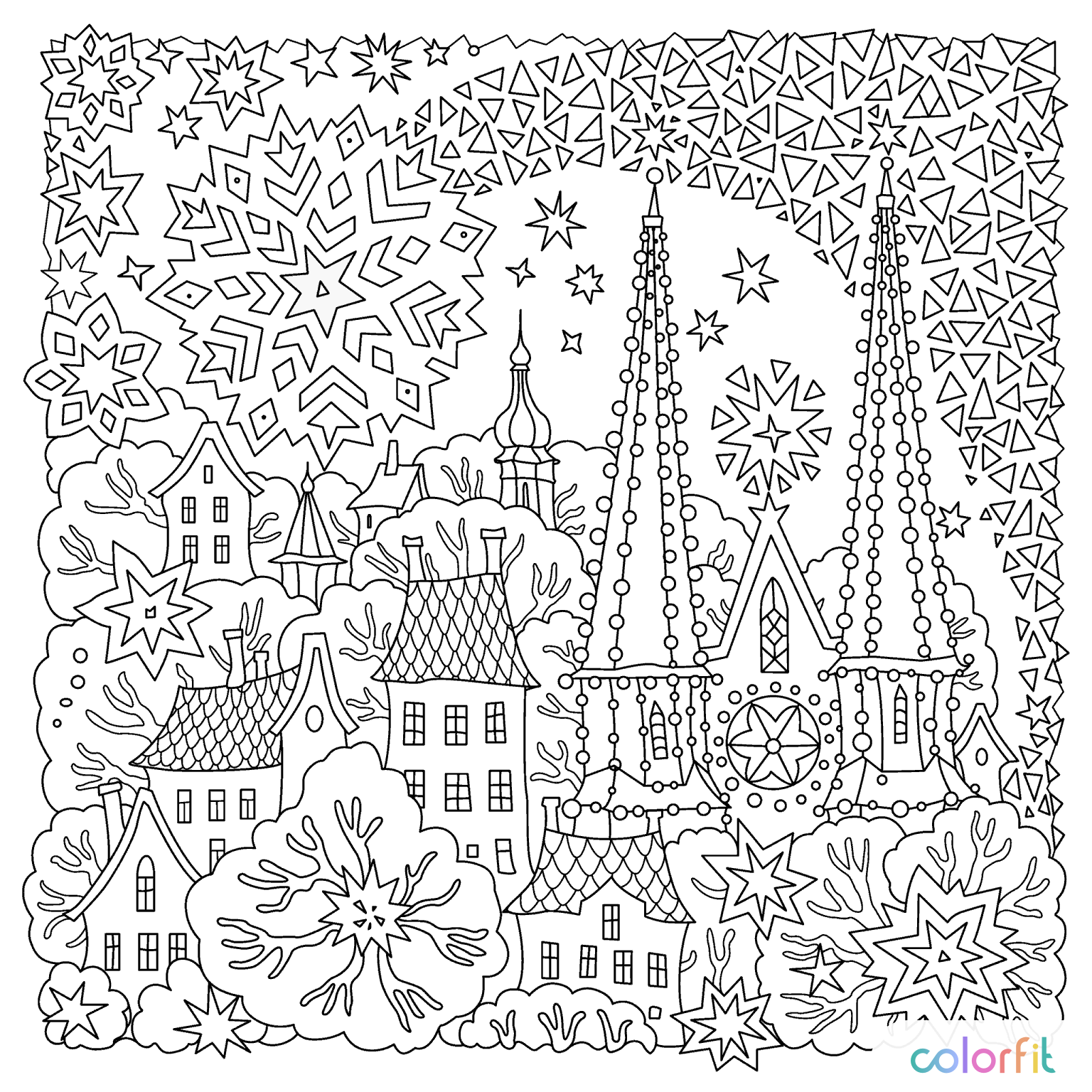 pin by coloring pages for adults on christmas + easter coloring