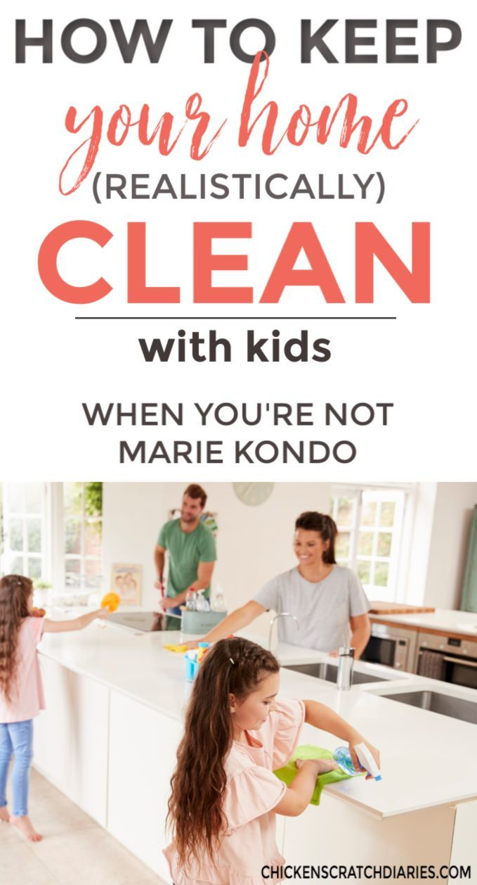 How to Keep a Clean House  Realistically, with Kids is part of Organization Bedroom Kids - Are there really secrets to keeping a clean house when you have kids underfoot  The realistic guide to an organized home that you can actually live in!