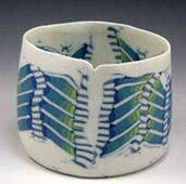 Chris Campbell - lots of interesting ideas about working with coloured clay