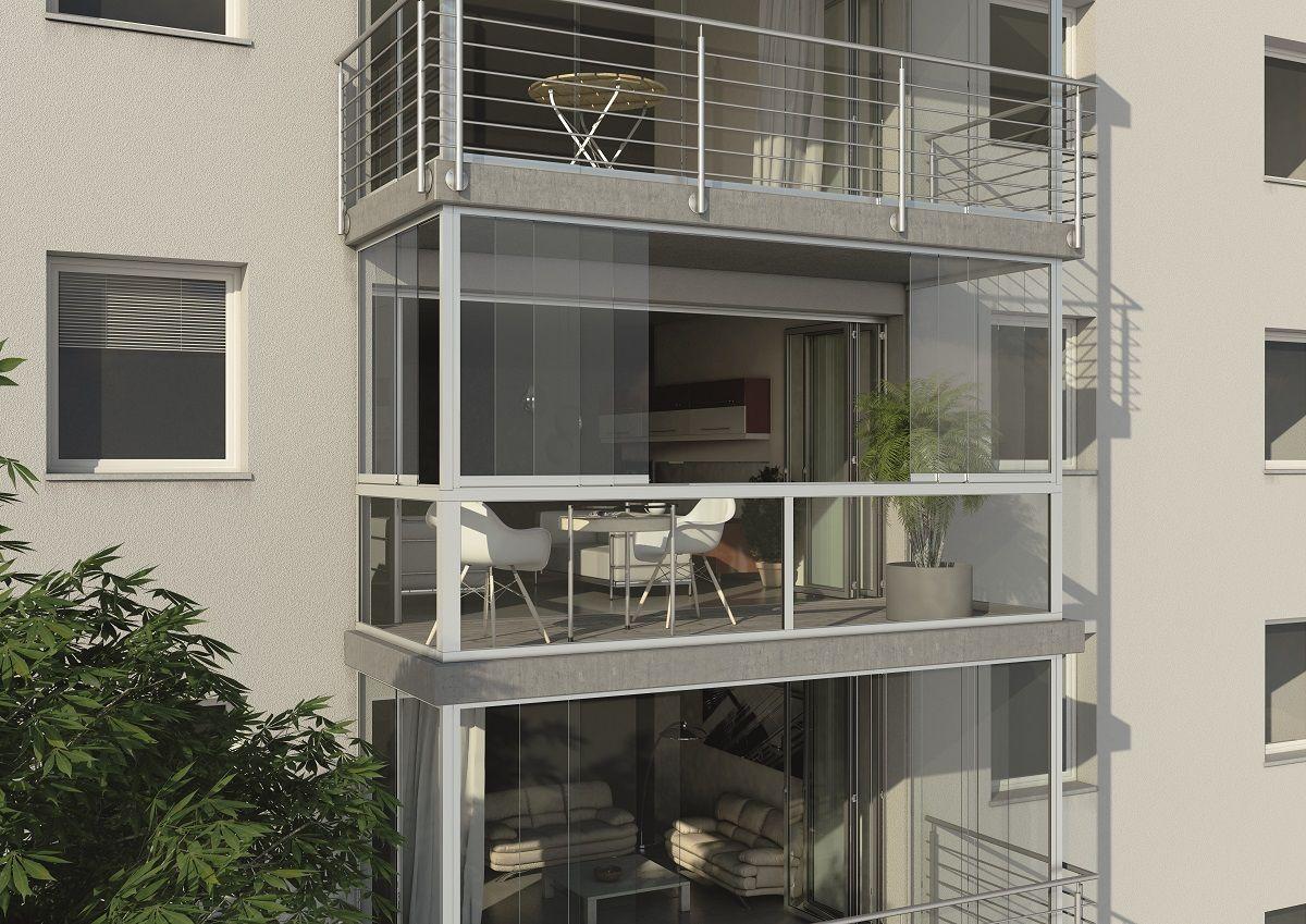 Sistema acristalado para balcones y fachadas terrazas y - Balcones y terrazas ...