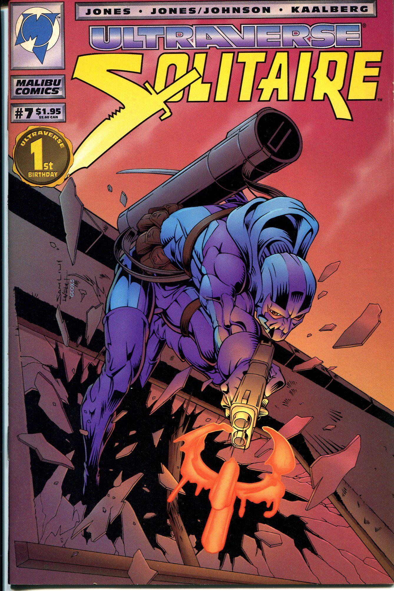 Ultraverse Solitaire #6 Nm Comics 1st Print Malibu Comics