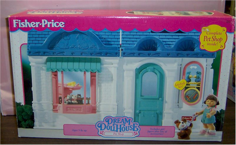 1995 1996 Fisher Price Dream DollHouse (Loving Family