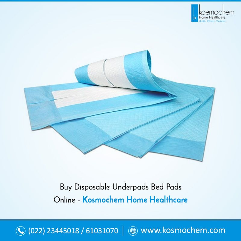 Buy Disposable Underpads Bed Pads Online Kosmochem Home