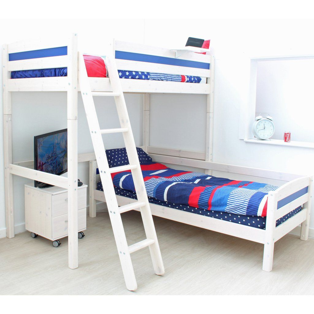 Best Thuka Trendy Highsleeper L Shaped Bunk Bed Cabinet With 400 x 300